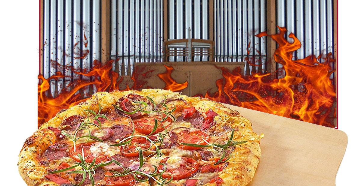 Pizza Organi - Stiftungsrundbrieg Orgelklang aktuell 1 / 2018