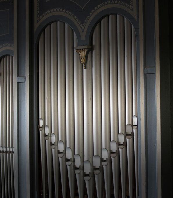 Orgel in der Dorfkirche Flonheim-Uffhofen