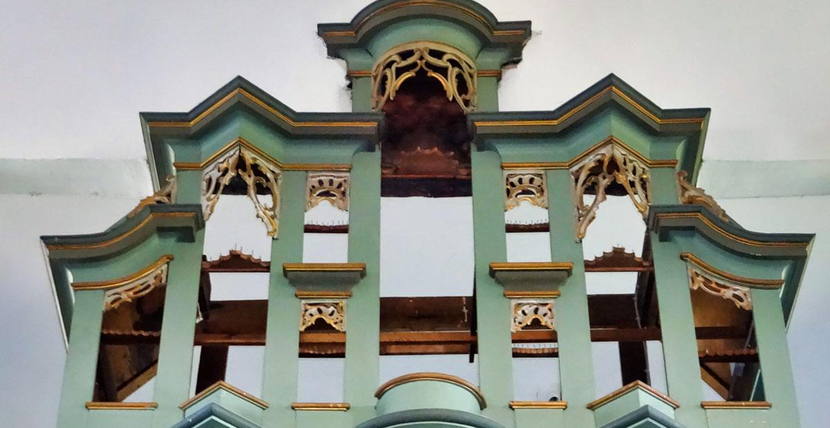 Wegmann-Orgel von 1171 in Groß Eichen