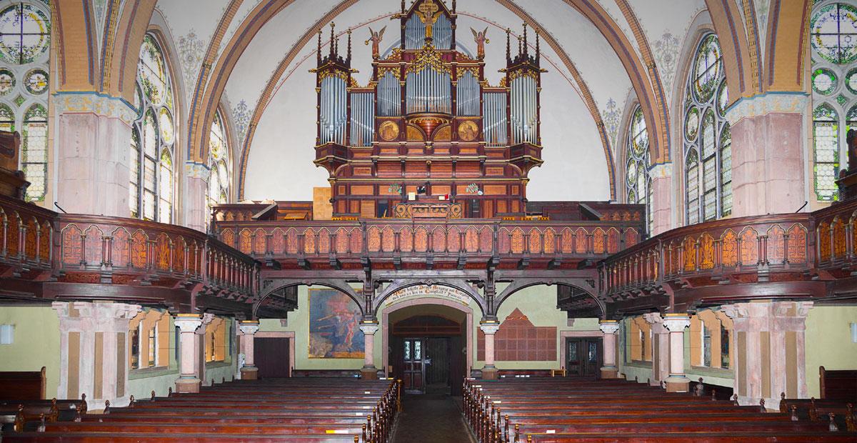 Orgel in der Johanneskirche in Meißen-Cölln