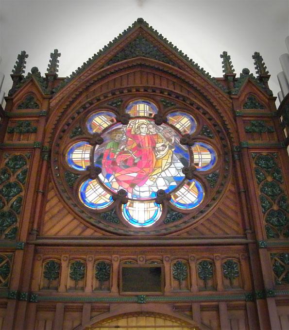 Sauer-Orgel in der Stadtkirche Gronau