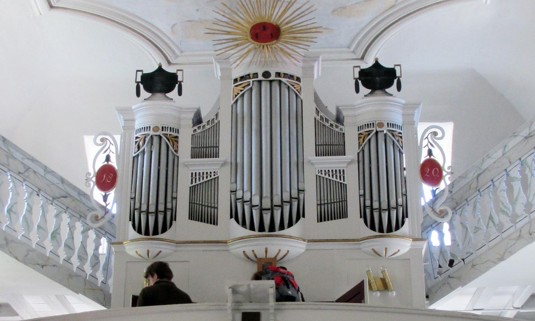Vogler-Orgel in Schellsitz