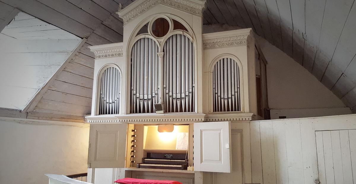 Eifert-Orgel in St. Bartolomäus Oberwirbach