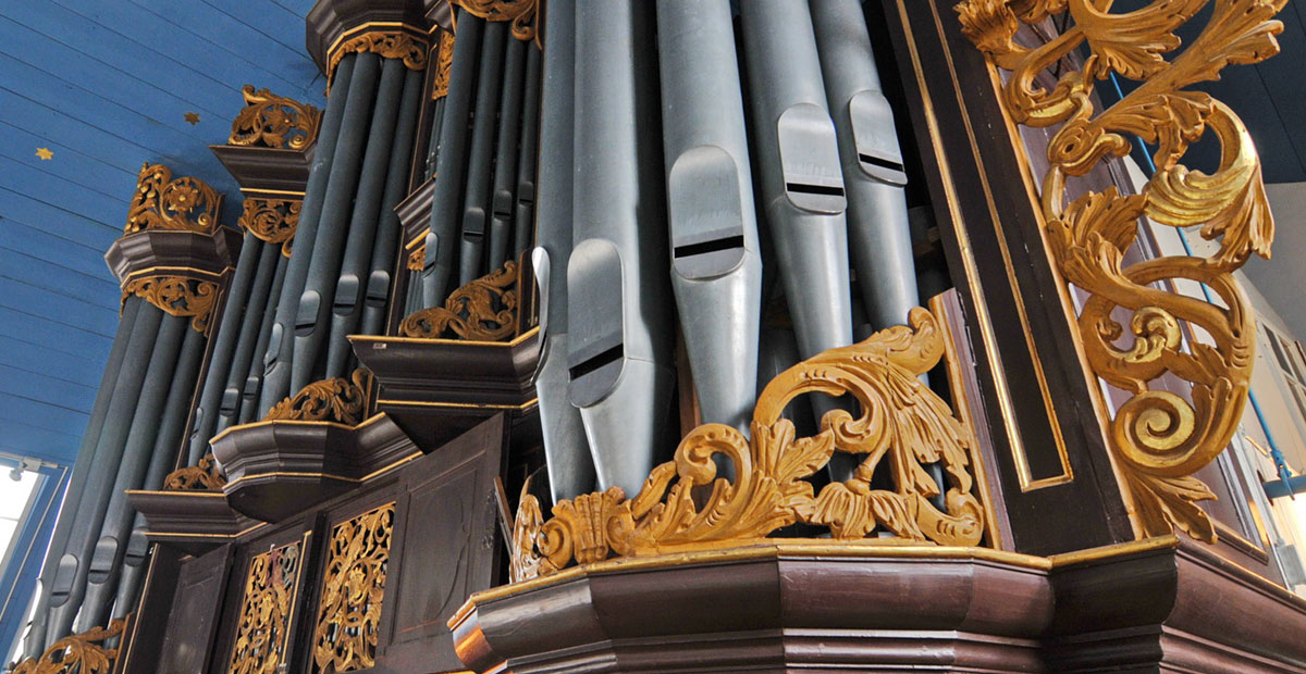 Gloger-Orgel von 1742 in St. Severi Otterndorf