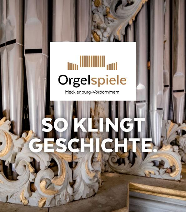 Orgelspiele Mecklenburg-Vorpommern