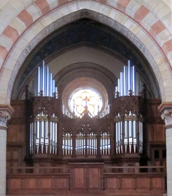 Furtwängler-Orgel von 1900 in der Klosterkirche St. Marienberg