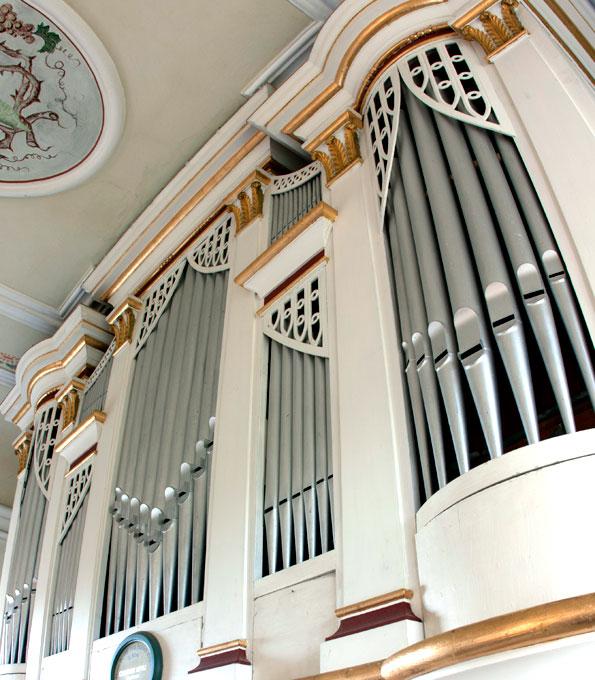 Opitz-Orgel von 1857 in der Dorfkirche Jonaswalde