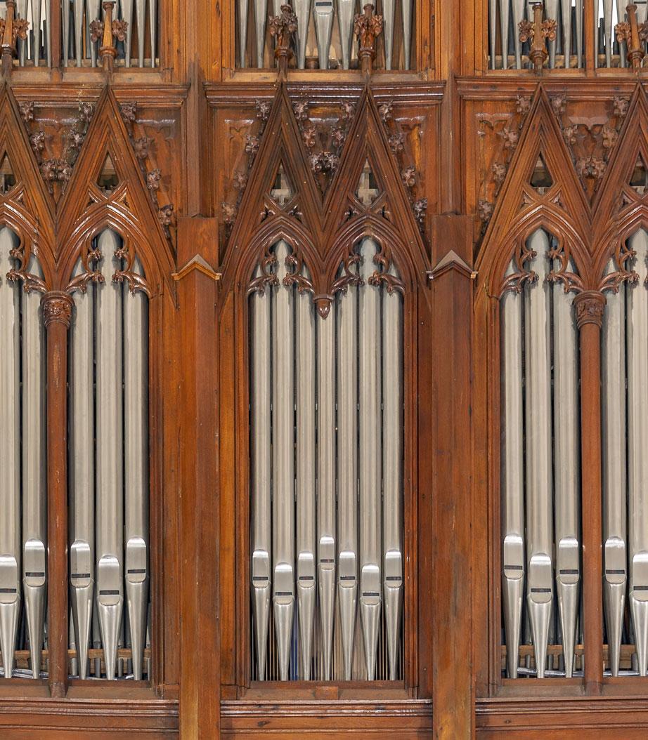 Stiehr-Orgel von 1942 in St. Georg zu Kandel
