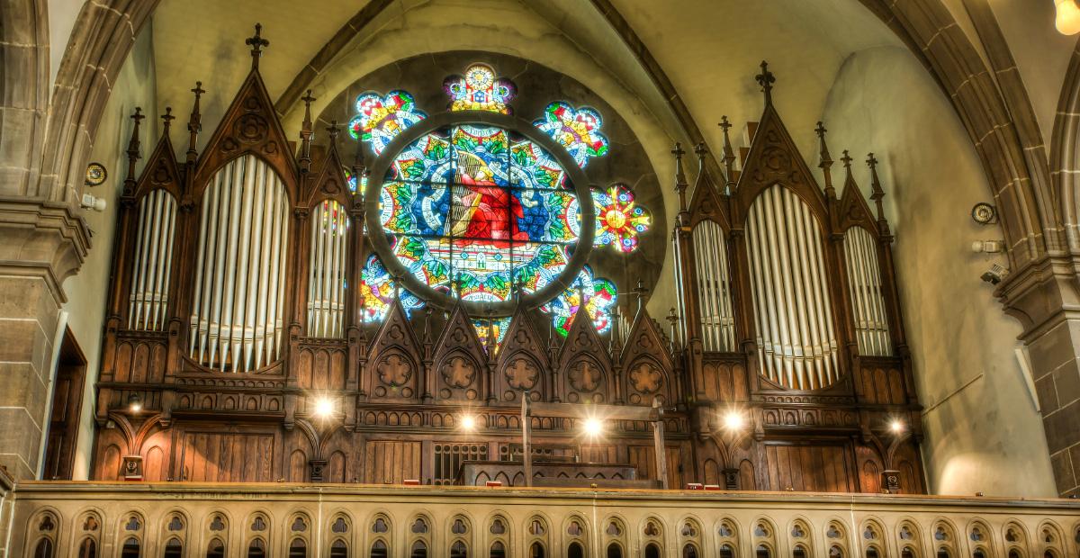 Walcker Orgel opus 874 (1900) in Eisenberg (Rheinland-Pfalz)