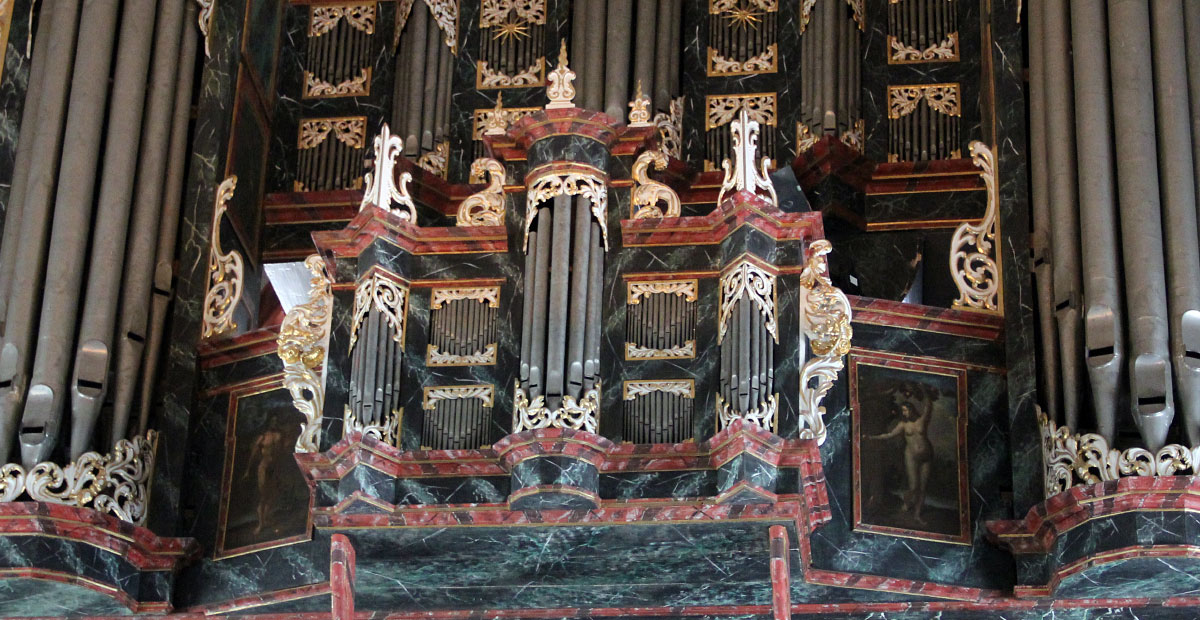 Schnitger-Orgel in St. Oankratius Hamburg
