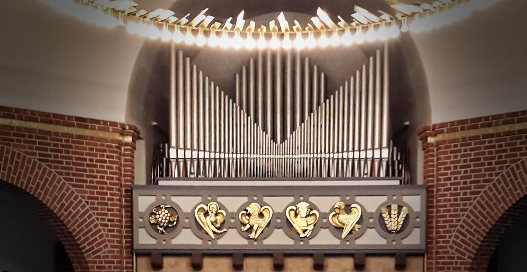 Sauer-Orgel von 196 in der Christuskirche Hörnerkirchen