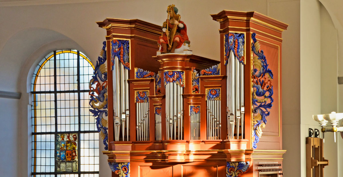 Orgel in der Kirche Düsseldorf-Urdenbach