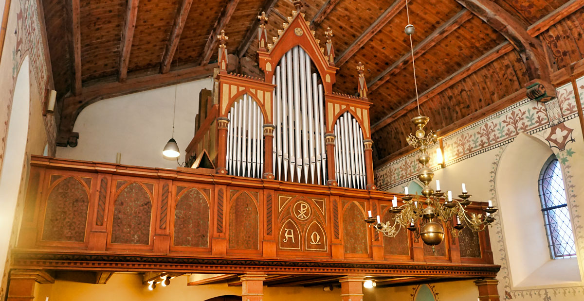 Troch-Orgel von 1888 in Mehmke (Sachsen-Anhalt)