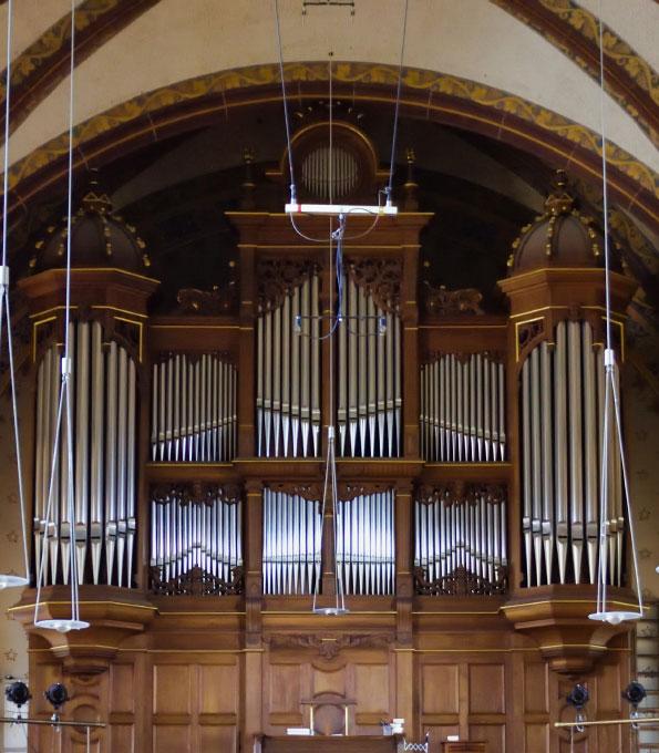 Walcker-Orgel (opus 885) in Essen-Werden