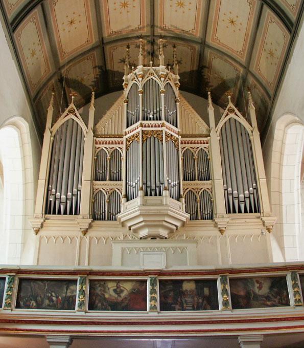Ladegast-Orgel von 1864 in St. Marien Weißenfels (Sachsen-Anhalt)