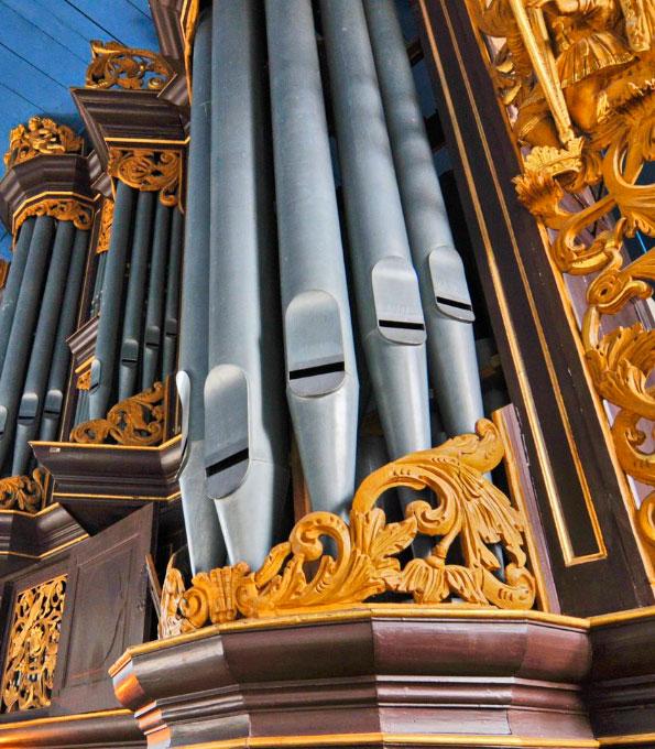 Gloger-Orgel von 1742 in St. Severi zu Otterndorf (Niedersachsen)