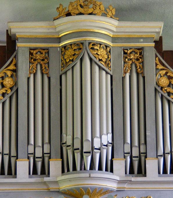 Ladegast-Orgel von 1838 in Tanneberg (Mittelsachsen)