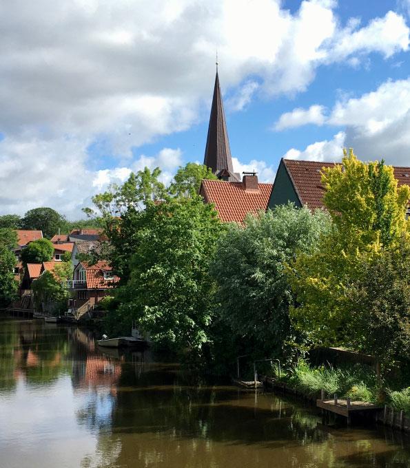 Idyllisch: St. Severi Otterndorf