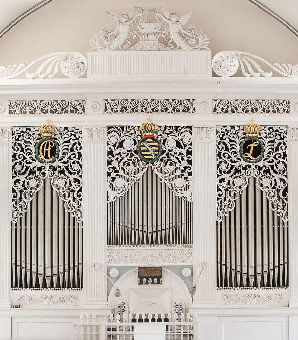 Schulze-Orgel von 1827 in der Liebfrauenkirche Ratsenberg (Thüringen)