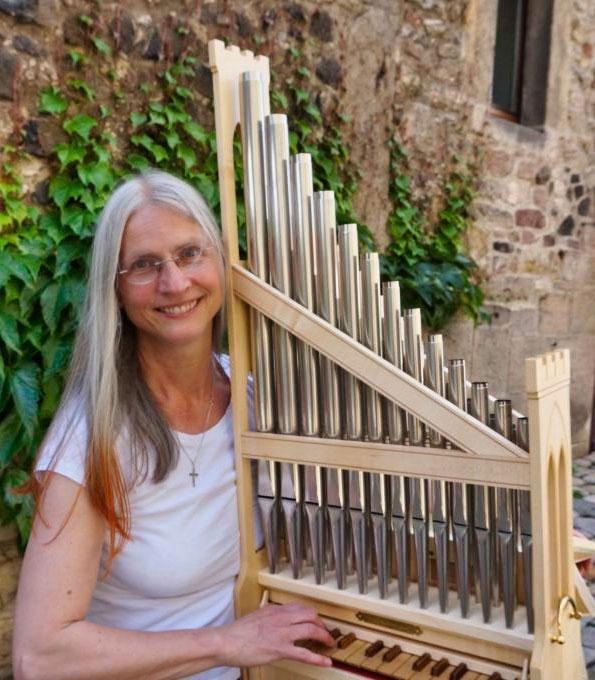 Stifts- und Kreiskantorin Claudia Wortmann (Wunstorf)