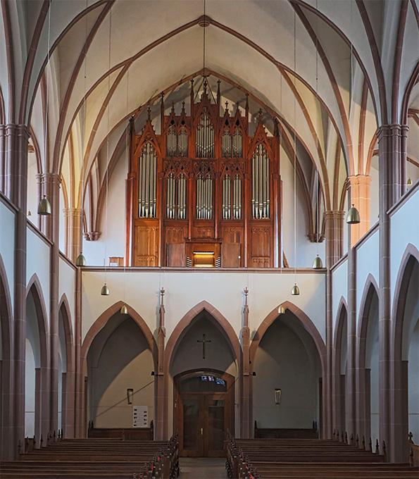 Die Stiehr-Orgel in St. Georg zu Kandel