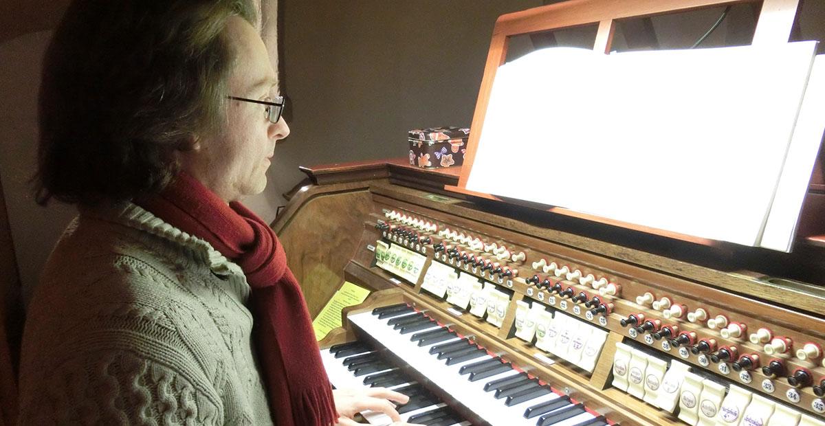 Eule-Orgel von 1928 in der Frauenkirche Grimma (Sachsen)