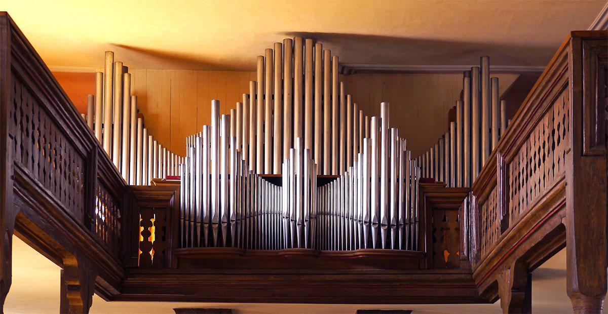 Steinmeyer-Orgel in Peterskirche Gutach, 2021 von usn gefördert