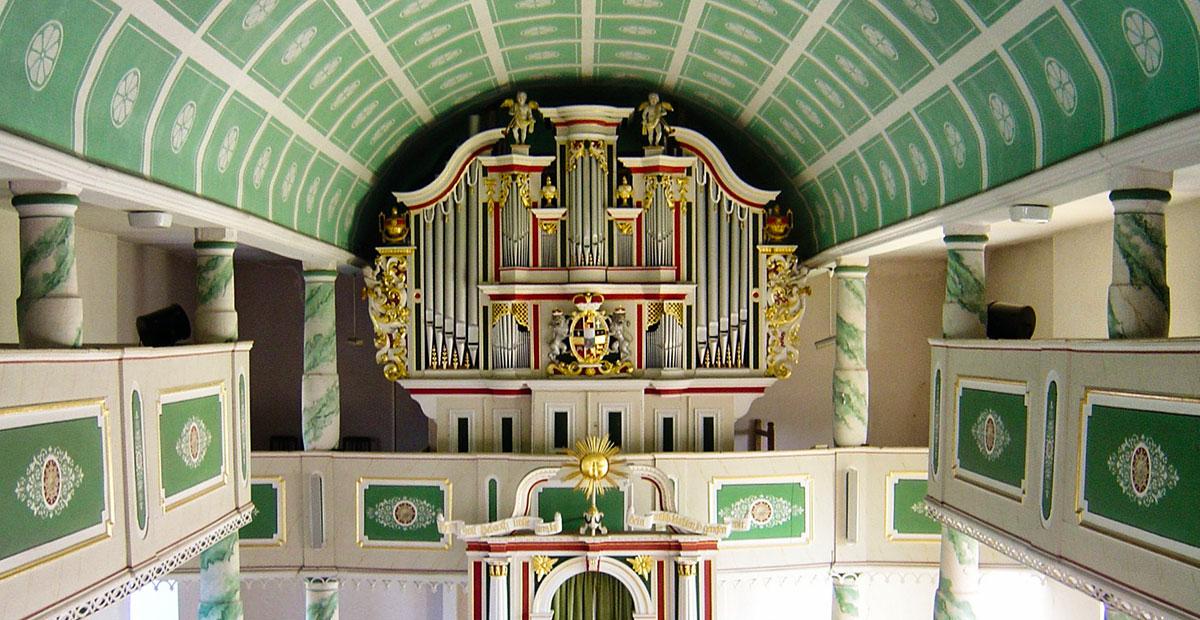 Nordheim-Orgel von 1804 in St. Laurentius Oechsen (Thüringen)
