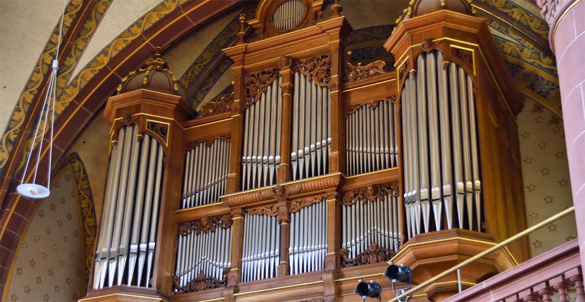 Walcker-Orgel von 1900 in der Kirche zu Essen-Werden