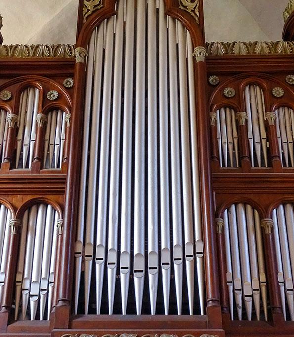 Böttcher-Orgel von 1865 in der Klosterkirche Diesdorf (Sachsen-Anhalt)