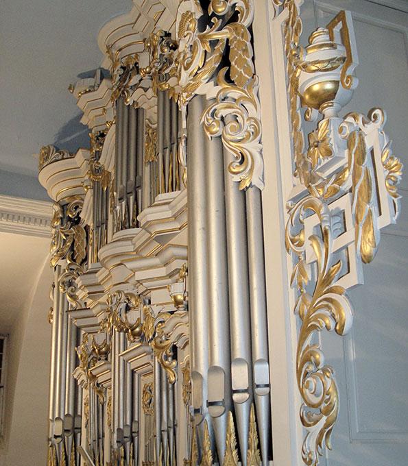 Hesse-Orgel von 1797 in St. Kiliani Gispersleben (Thüringen)