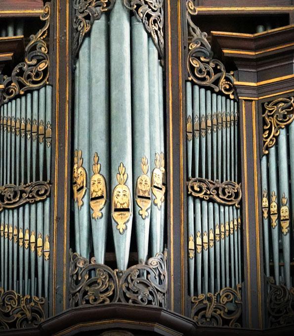 Stellwagen-Orgel in St. Jacobi Lübeck