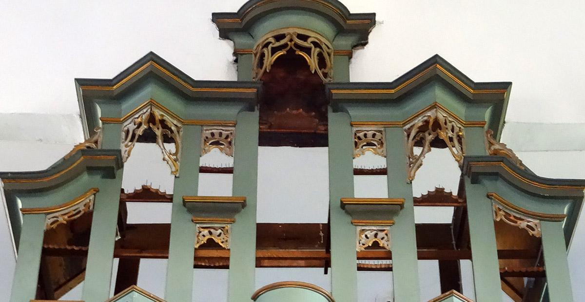 Orgel des Monats Mai 2018 - Orgel in Groß-Eichen